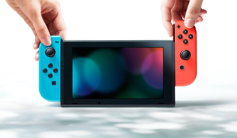 Nintendo Switch 32gb Neon Blue Neon Red
