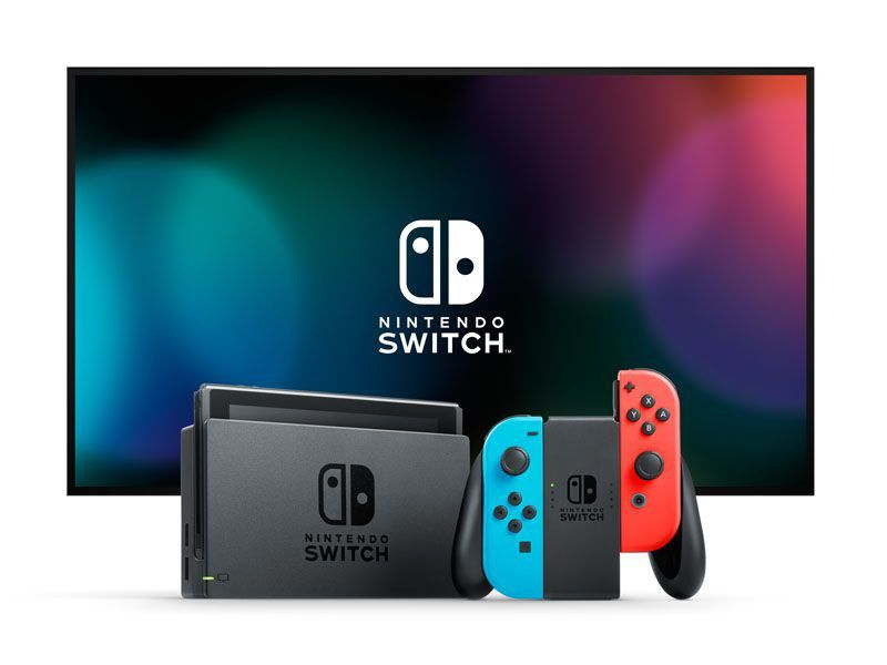 Nintendo Switch 32gb Neon Blue Neon Red