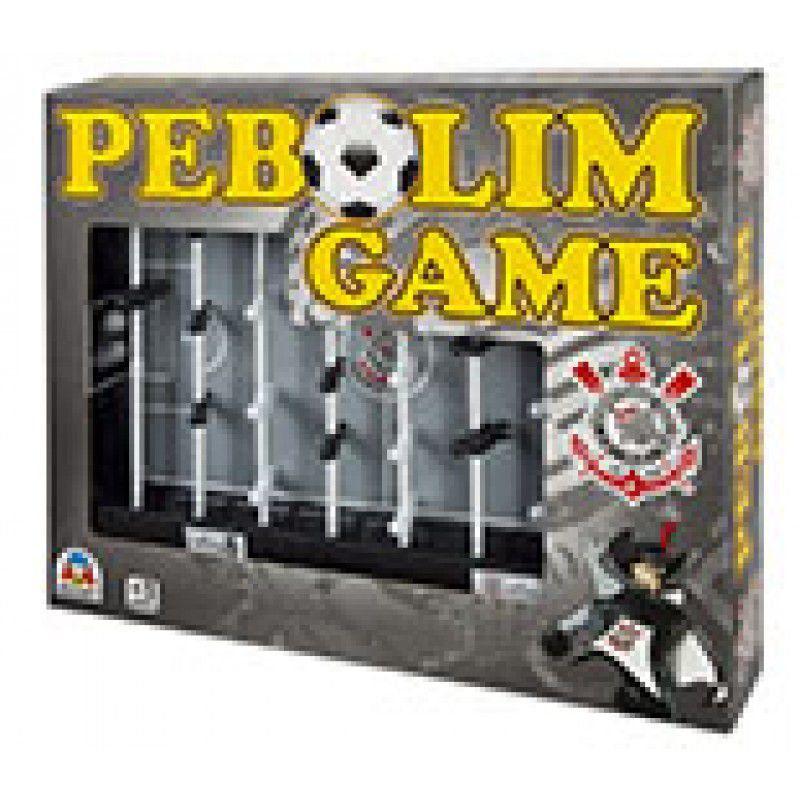 Pebolim Game Jogo Toto Infantil Corinthians Braskit