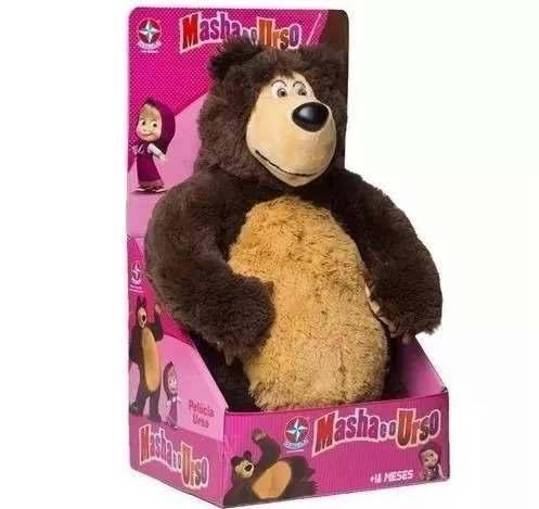 Pelucia Masha E O Urso Estrela Urso