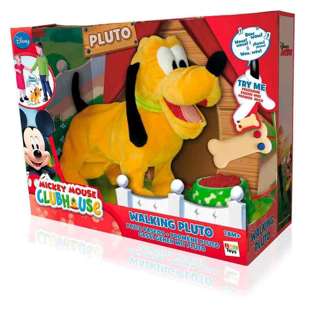 Pelucia Walking De Controle Remoto Pluto Multikids