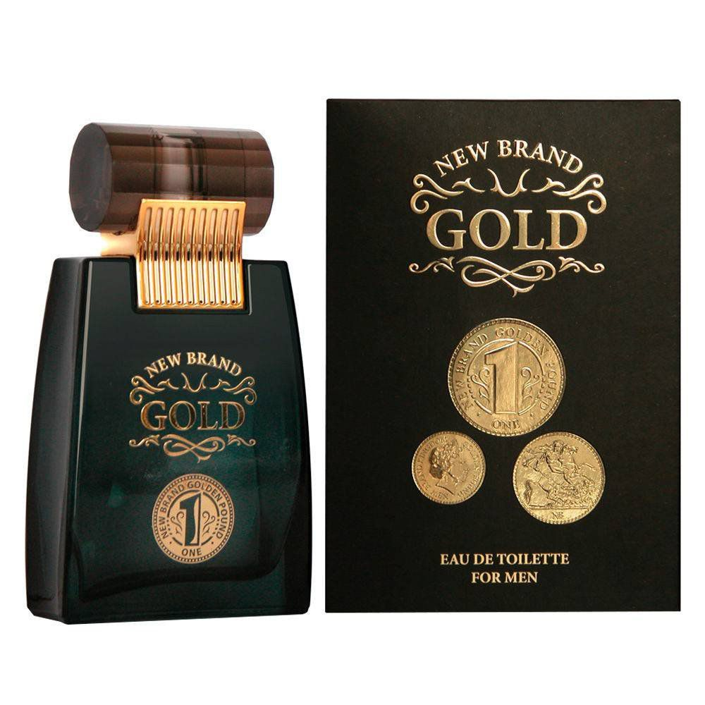 Perfume 100ml Gold New Brand