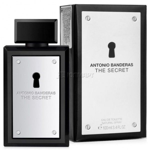 Perfume Antonio Bandeiras The Secret Masculino 100ml Antonio Bandeiras