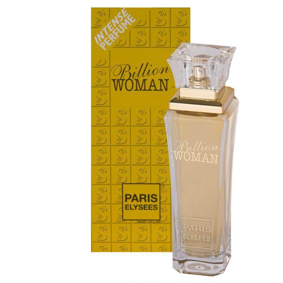 Perfume Billion Woman 100ml Paris Elysees