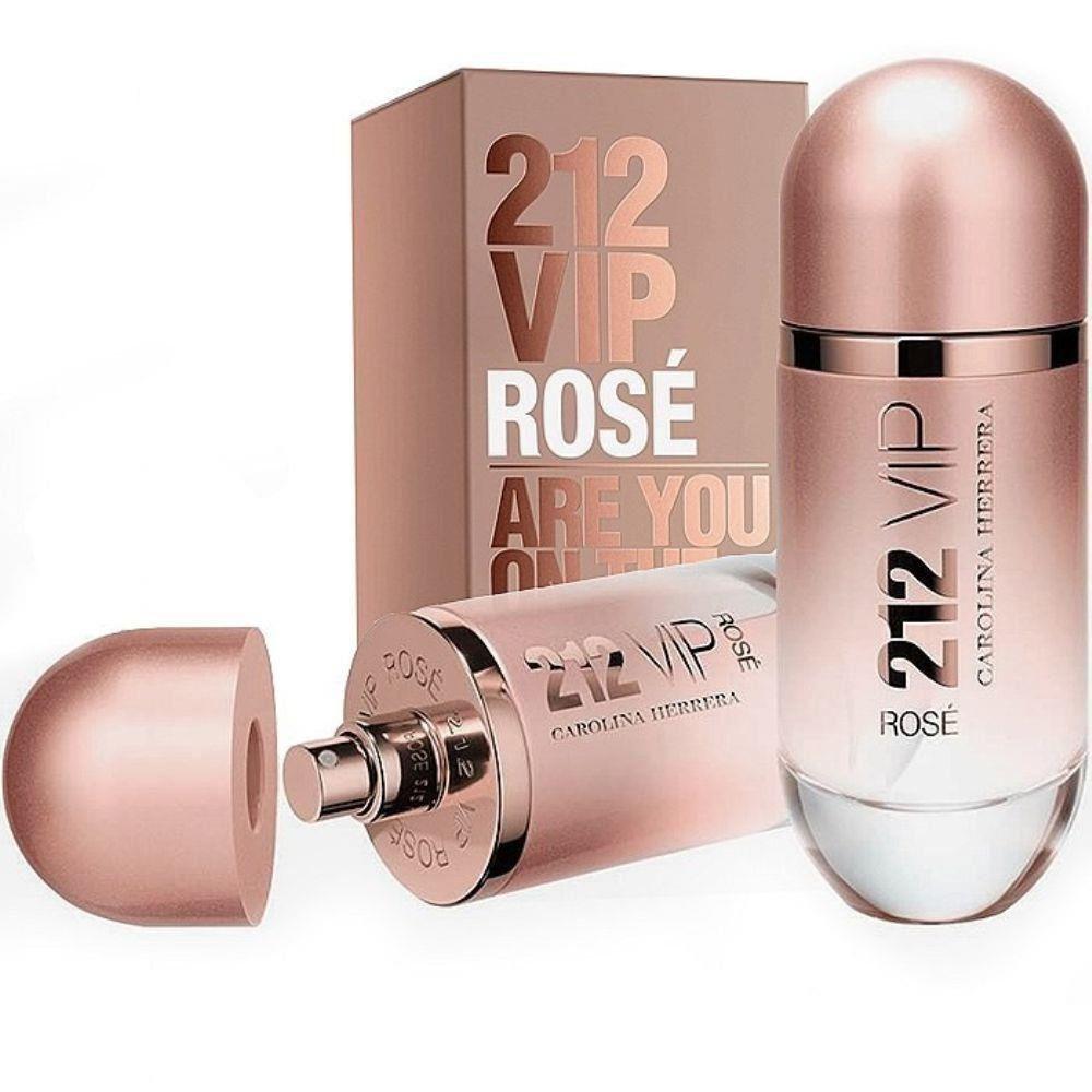 Perfume Feminino 80ml 212 Vip Rose Carolina Herrera