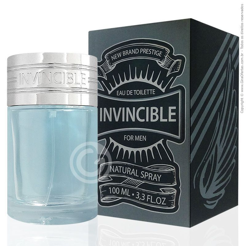 Perfume Invincible For Man 100ml New Brand