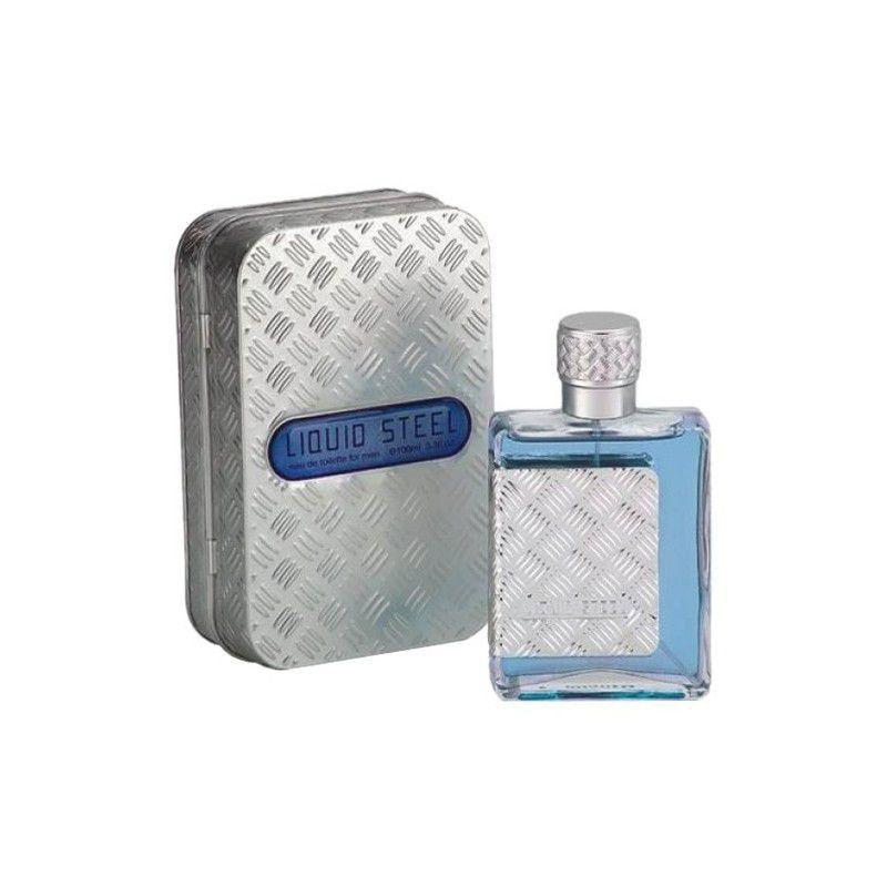 Perfume Liquid Steel Men 100ml Azzaro