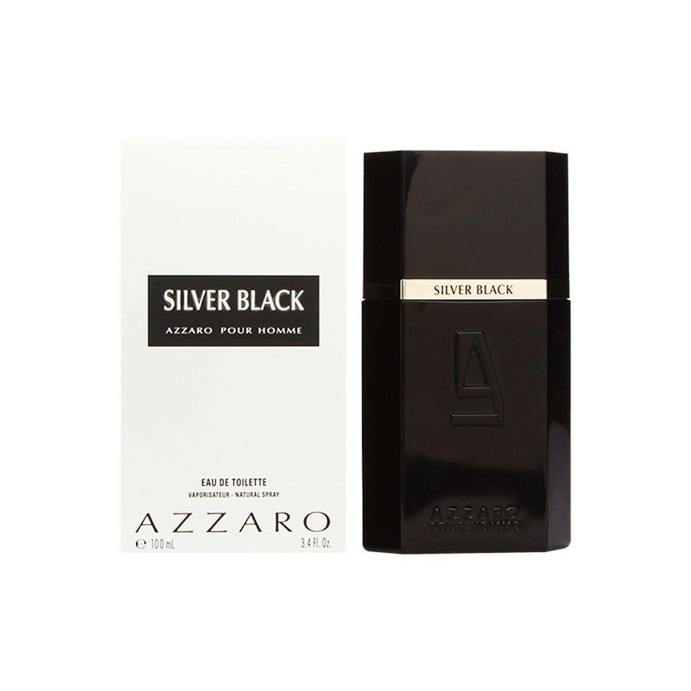 Perfume Masculino Silver Black 100ml Azzaro