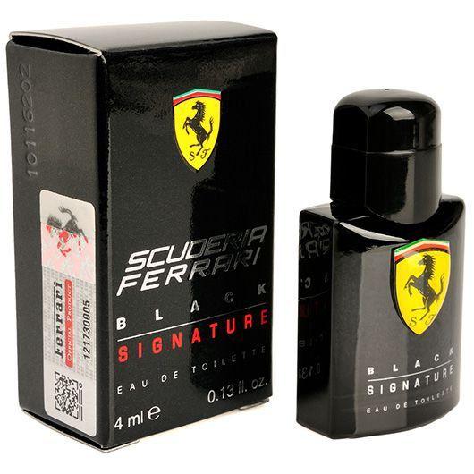 Perfume Mini Masculino Black 4ml Ferrari