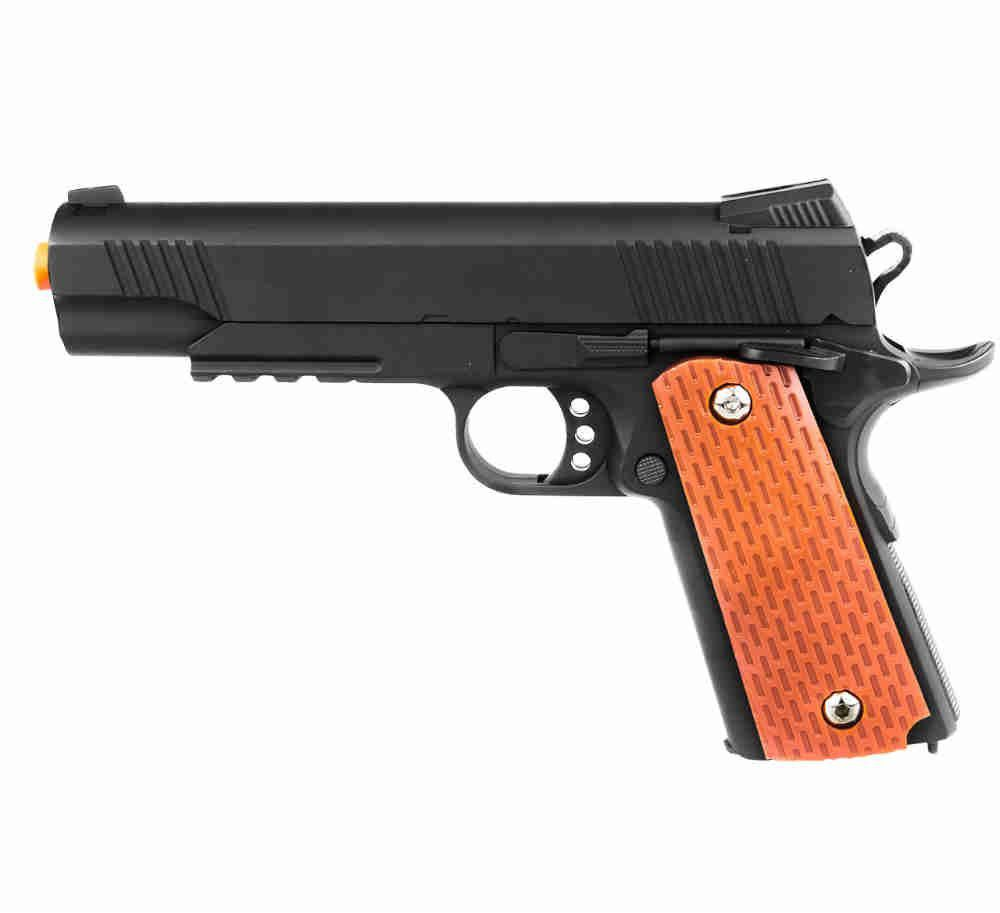 Pistola Airsoft Mola Vg 1911-V13 Metal 6mm Rossi