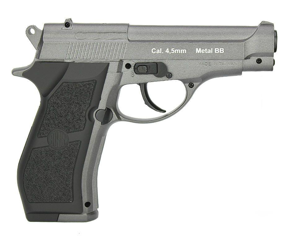 Pistola Pressao Metal Wingun W301 CO2 4,5mm Rossi