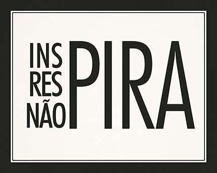 Placa Mdf 24X19cm Inspira Respira Nao Pira Litoarte