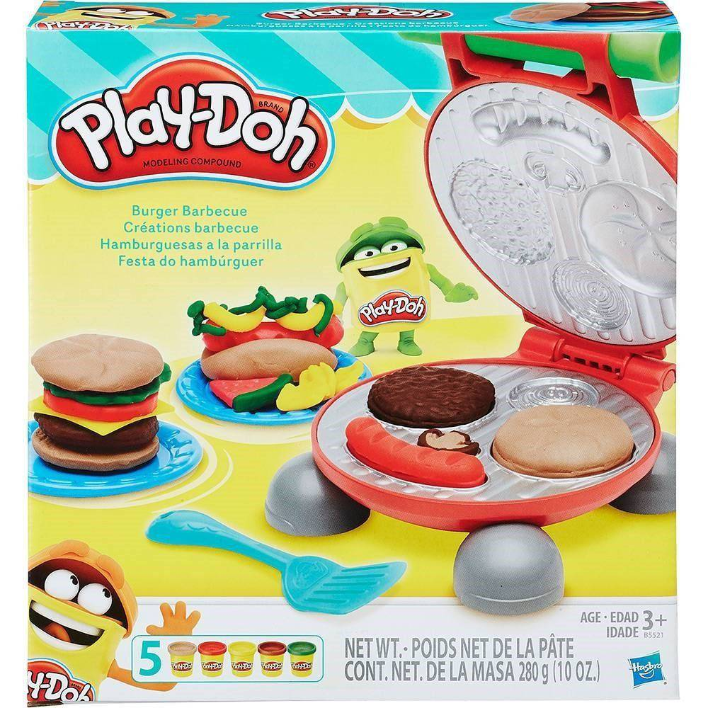 Play Doh Festa Do Hamburguer Hasbro