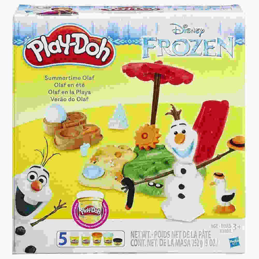 Play Doh Frozen Kit Verao Do Olaf Hasbro