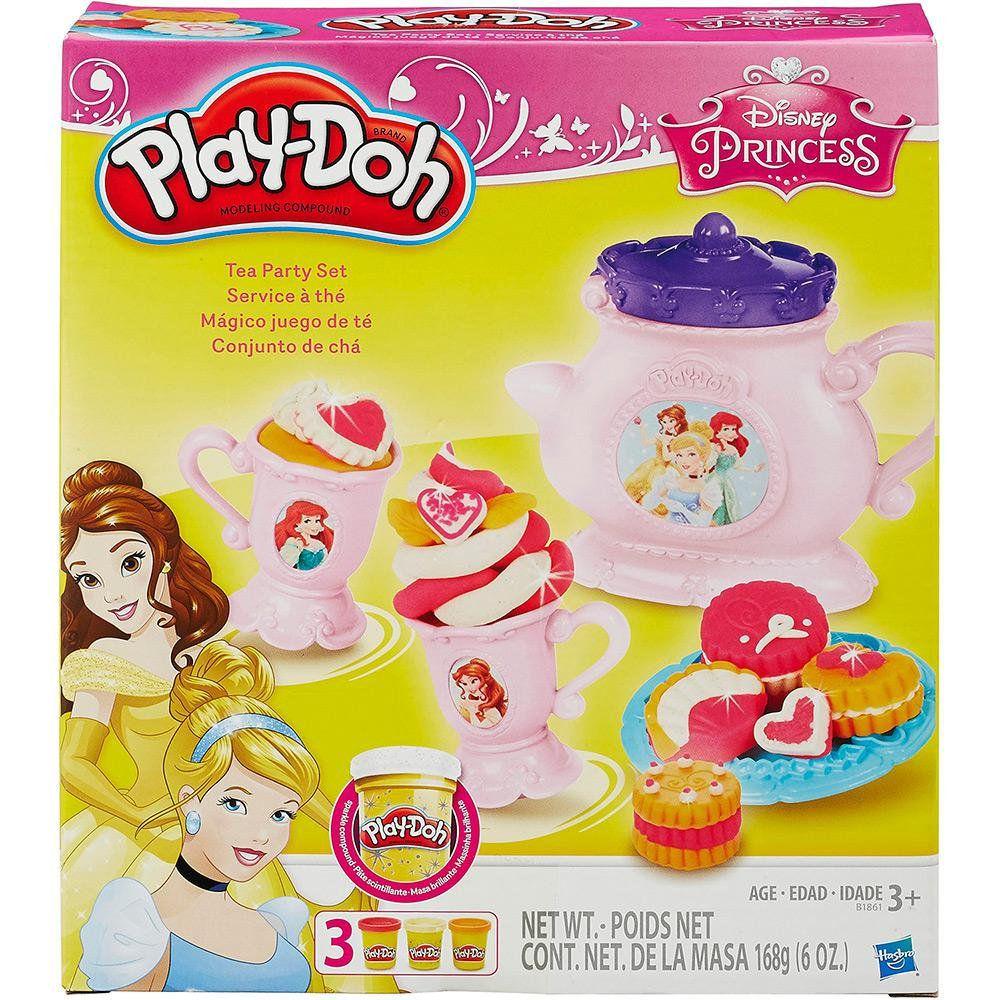 Play Doh Massa De Modelar Cha Princesas Disney Hasbro