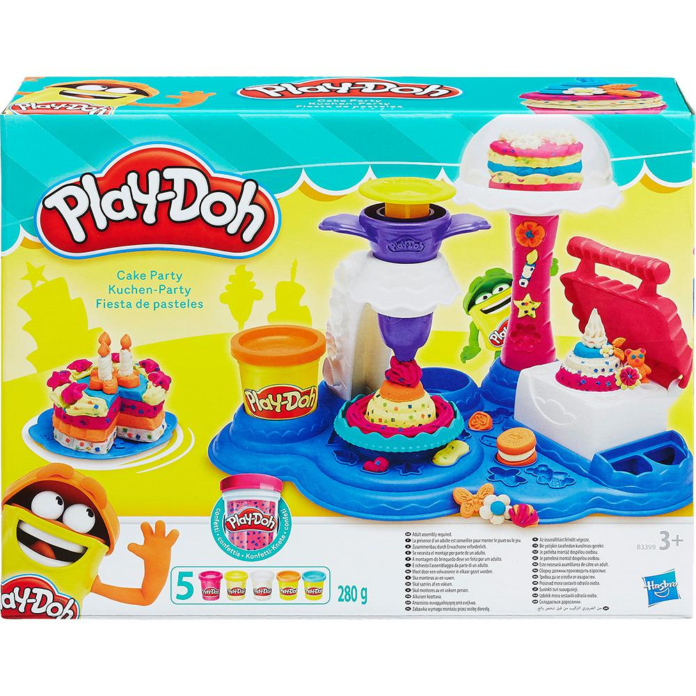 Play Doh Massa De Modelar Festa De Bolos Hasbro