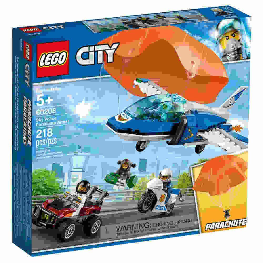 Policia Aerea Detençao De Paraquedas 218 Peças Lego