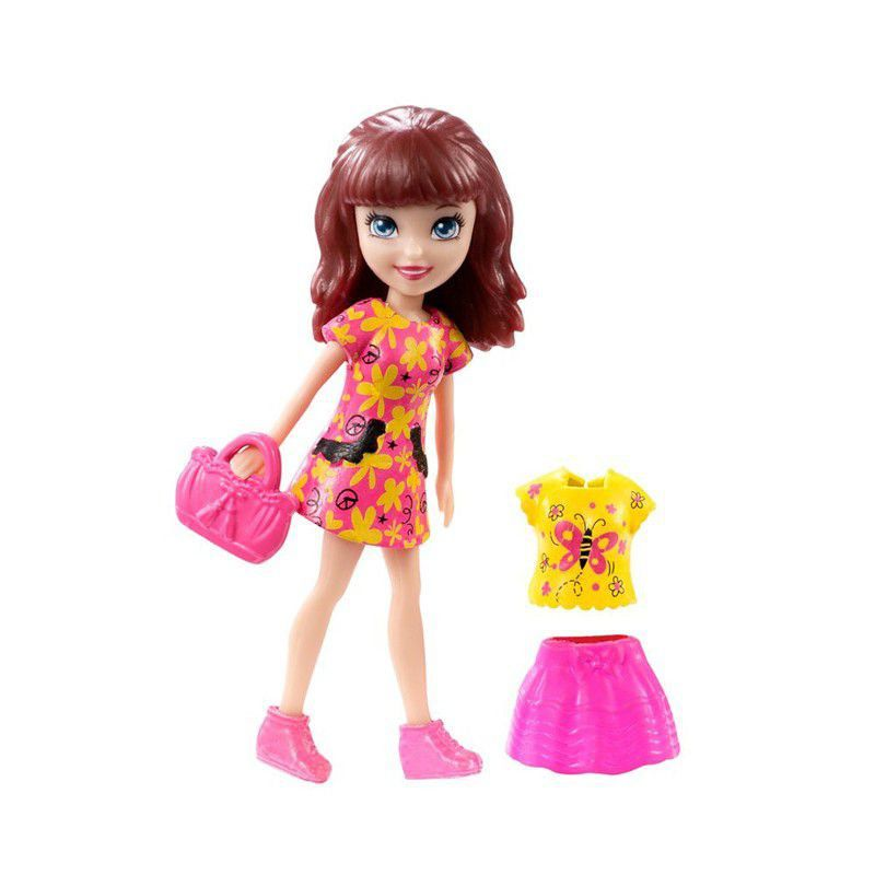 Polly Pocket Bonecas Neon Mattel - Sortidos