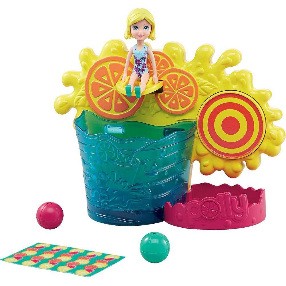 Polly Pocket - Brincadeira Surpresa Aquática Mattel