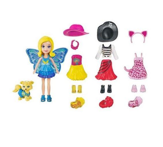 Polly Pocket Cachorrinho Looks Combinados Mattel - Sortidos