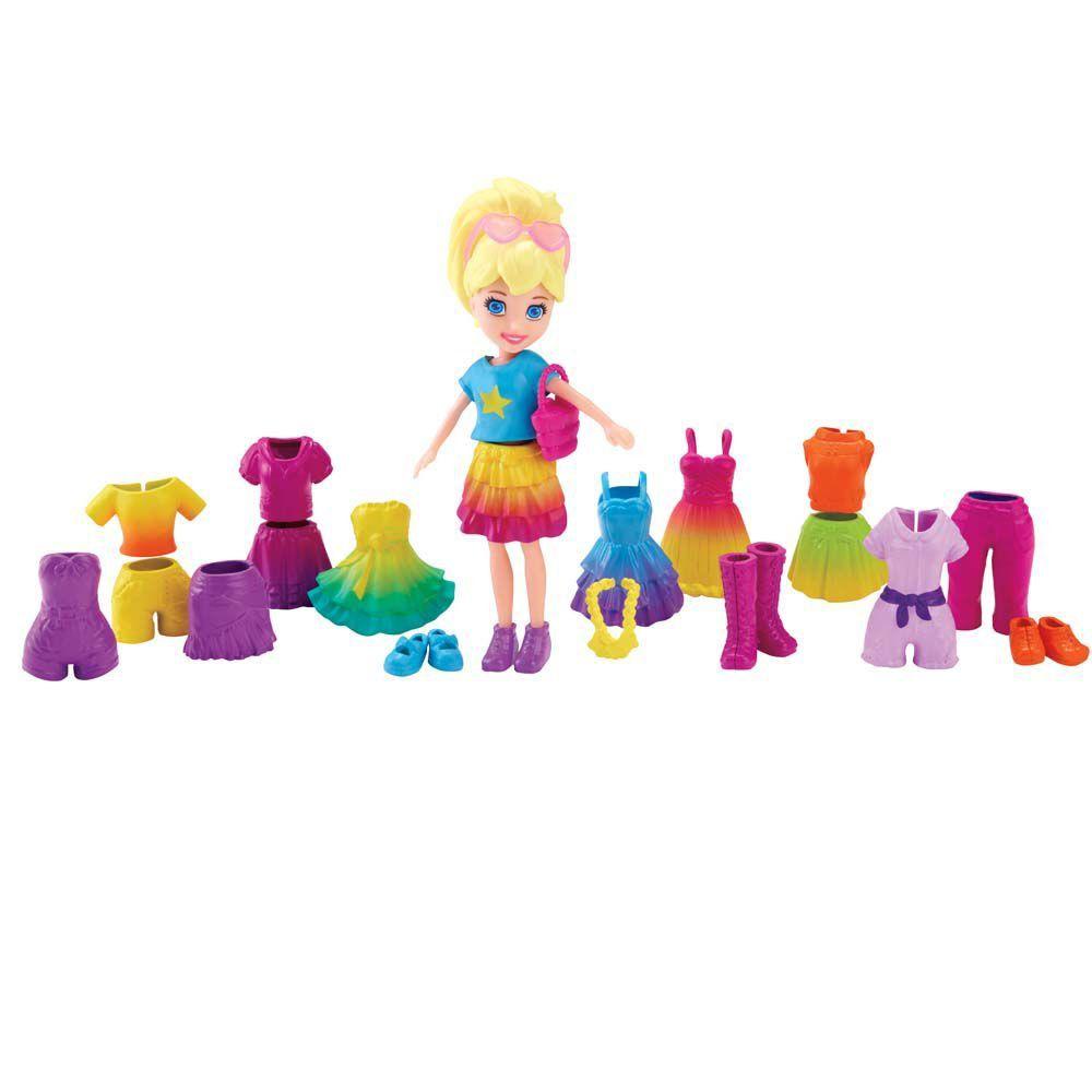 Polly Pocket Colecao De Roupinhas Mattel