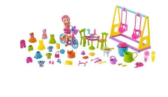 Polly Pocket Diversao No Jardim Mattel