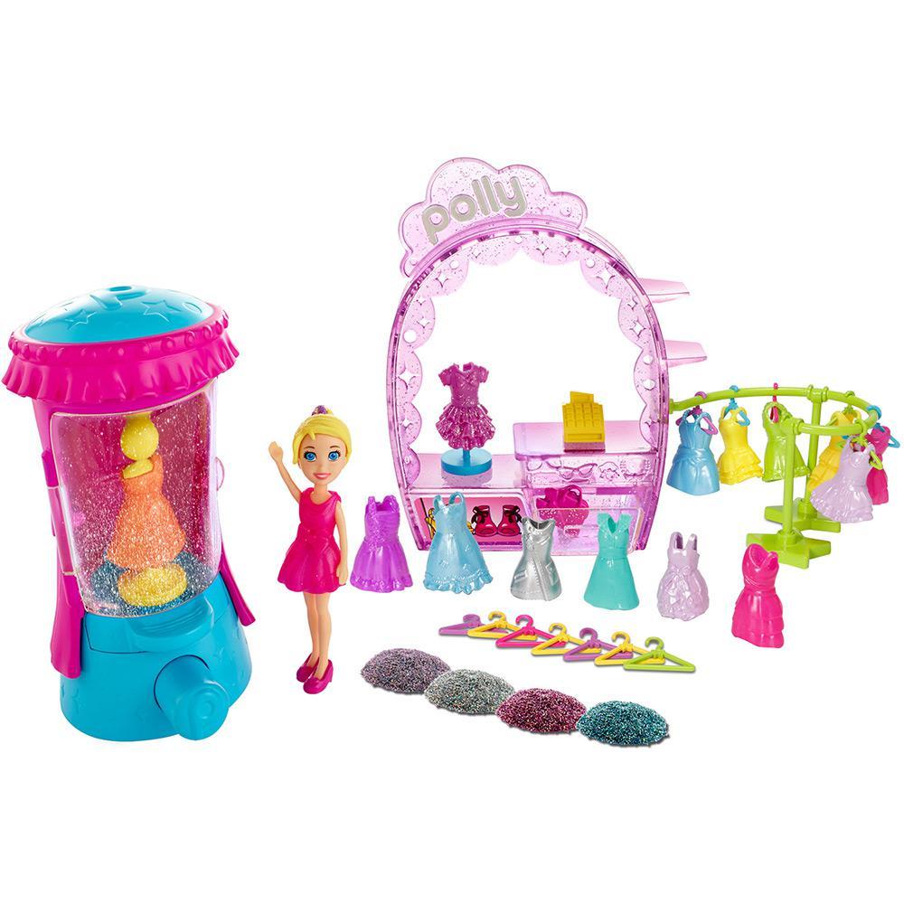 Polly Pocket Glitearizador Mattel