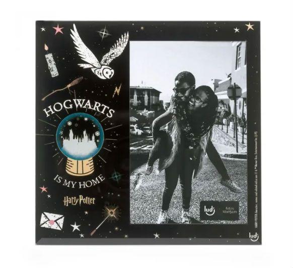Porta Retrato 10X15cm Harry Potter Hogwarts e Meu Lar Ludi