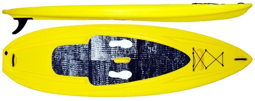 Prancha Stand Up Sup Swell Hidro2 Eko Polietileno 3 Metros Amarelo