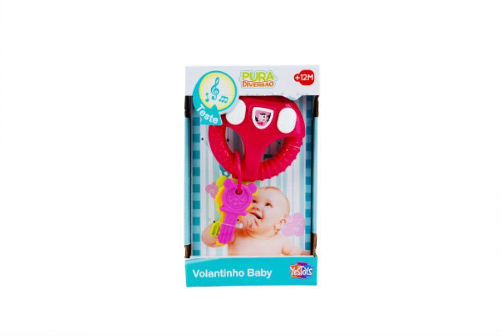 Pura Diversao Volantinho Baby Yes Toys