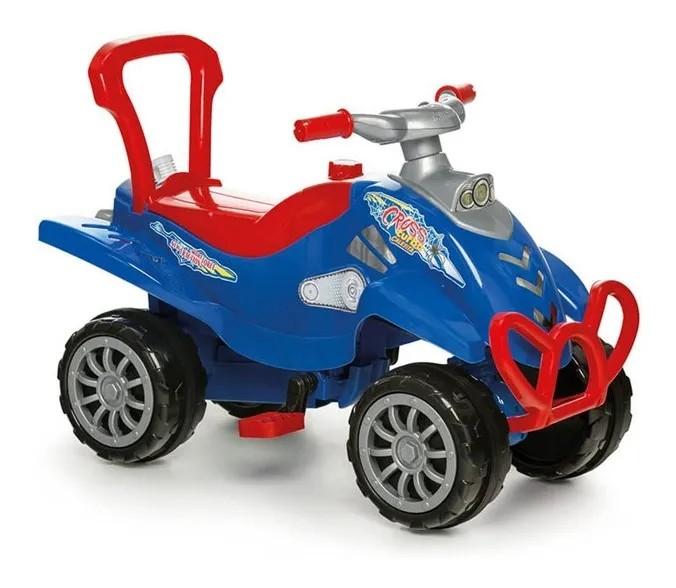 Quadriciclo Cross Turbo Vermelho Completo Calesita