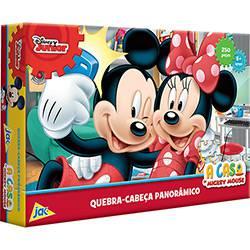 Quebra Cabeça A Casa Do Mickey Mouse 250 Peças Toyster