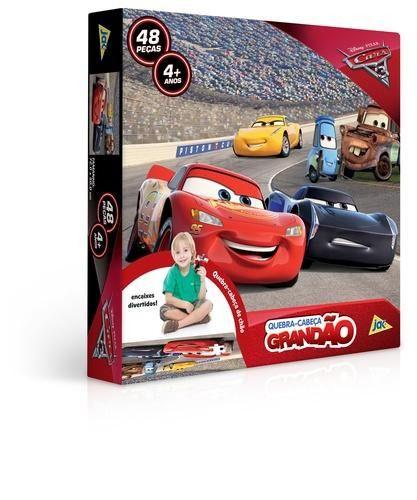 Quebra Cabeça Grandão Carros 3 Toyster
