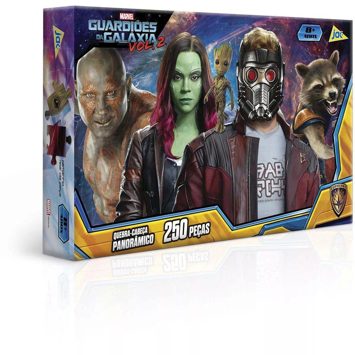 Quebra Cabeça Guardiões Da Galaxia 250 Peças Toyster