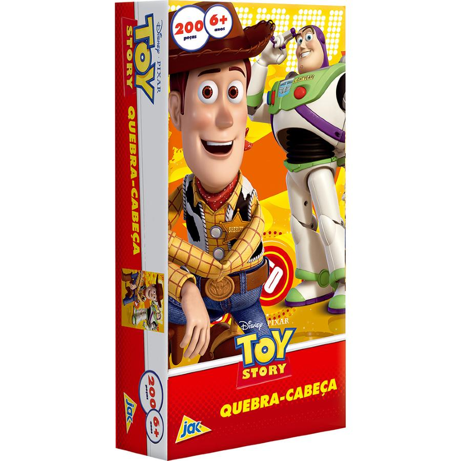Quebra Cabeça Metal Toy Story 200 Peças Toyster