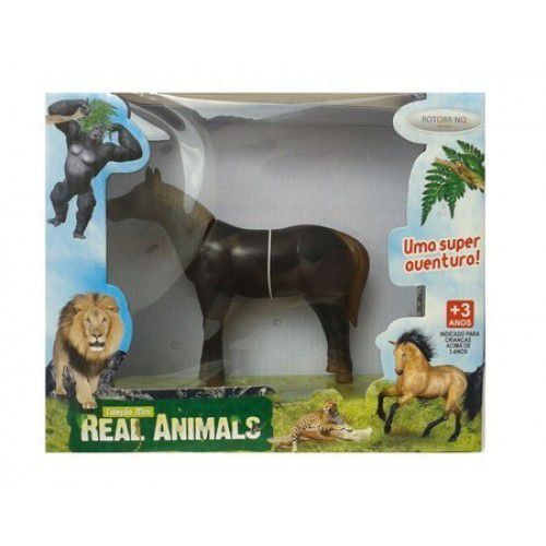 Real Animals Cavalo C/Som Bee Toys