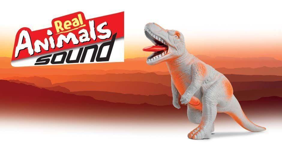 Real Animals Tiranossauro Rex Grande Com Som