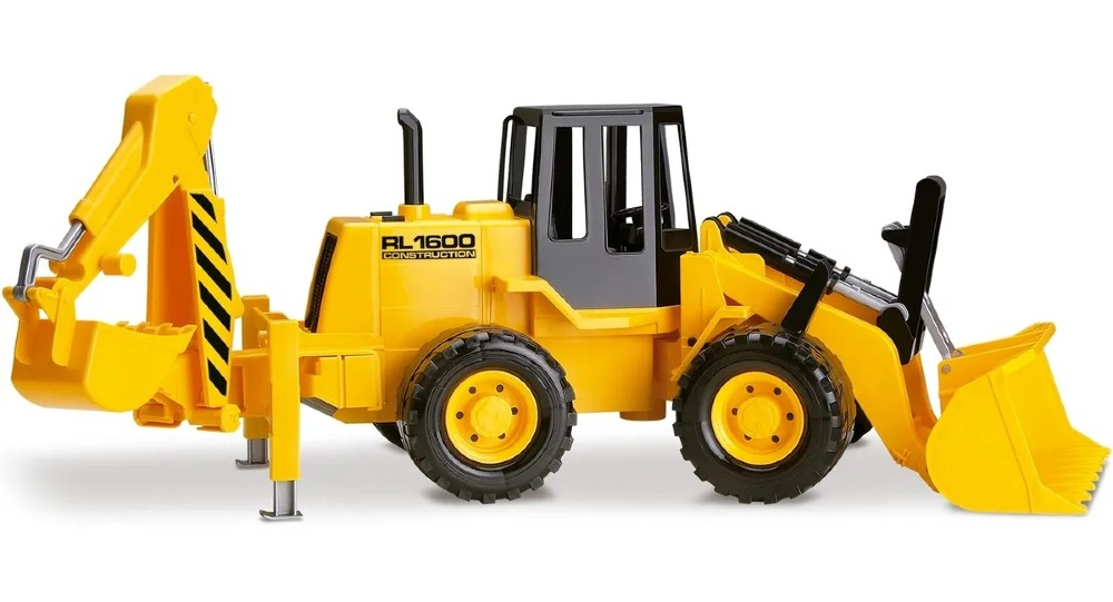 Retroescavadeira De Brinquedo Rl1600 Silmar