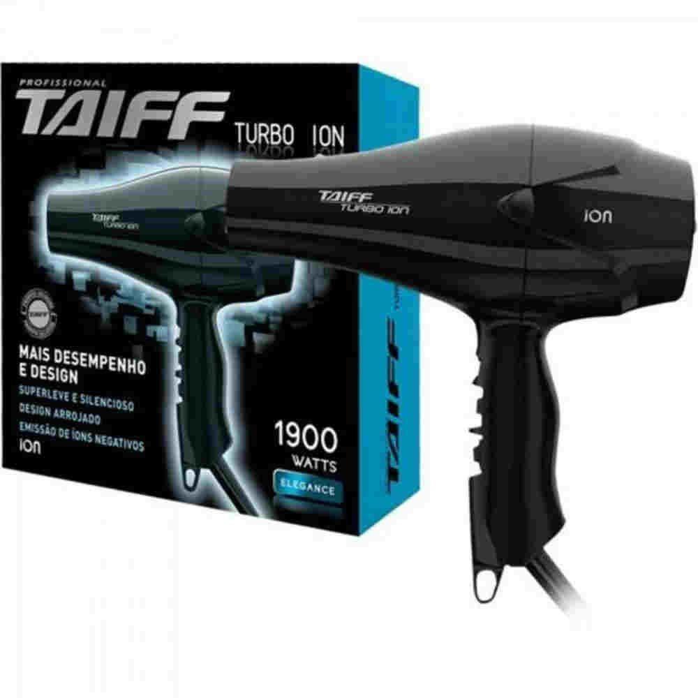 Secador Turbo Ion 127v Taiff
