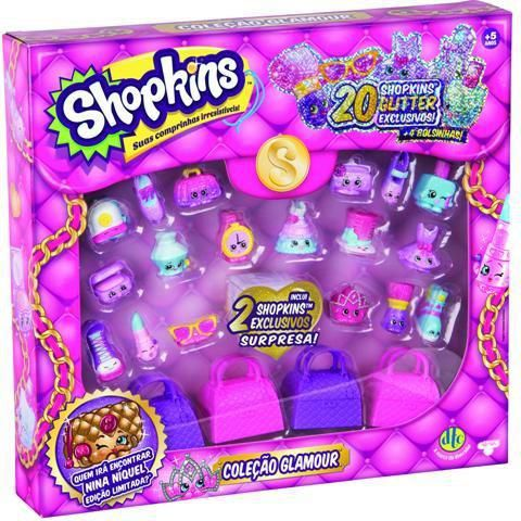 Shopkins Colecao Glamour Dtc