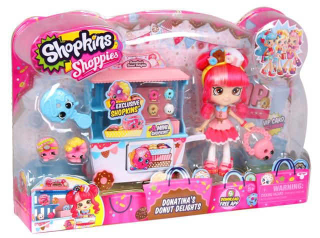Shopkins Donatina Play Set Dtc