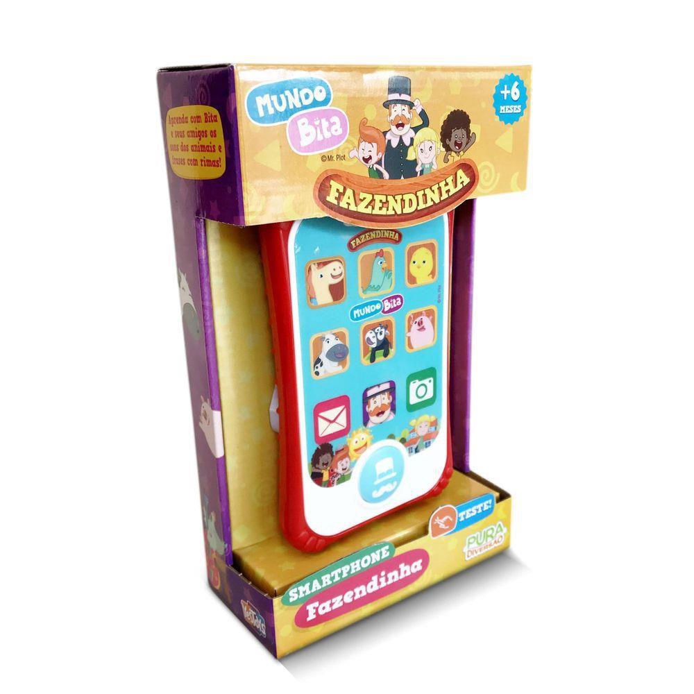 Smartphone Fazendinha Mundo Bita Yes Toys