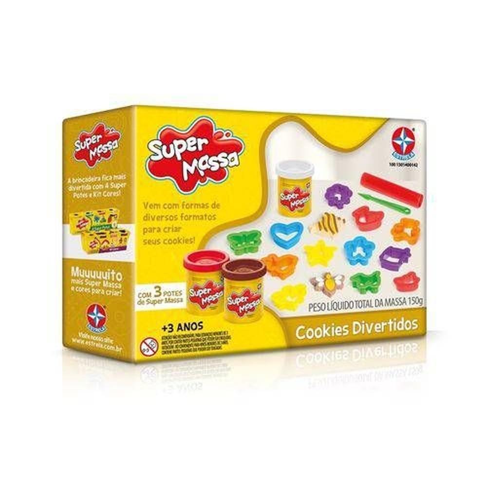 Super Massa Cookies Divertidos Estrela