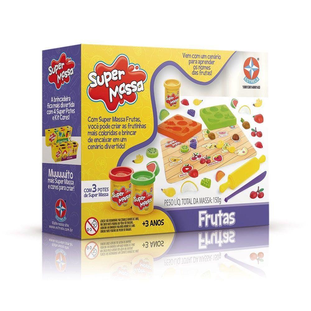 Super Massa Frutas - Estrela