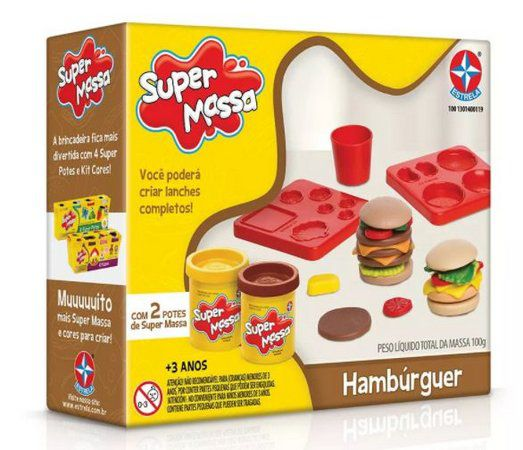 Super Massa Hamburguer Estrela