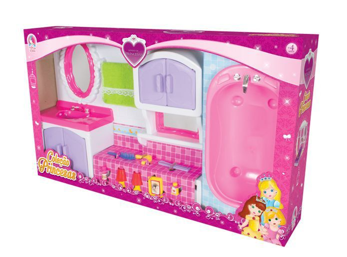 Toalete Cristal Princesas Lua De Cristal