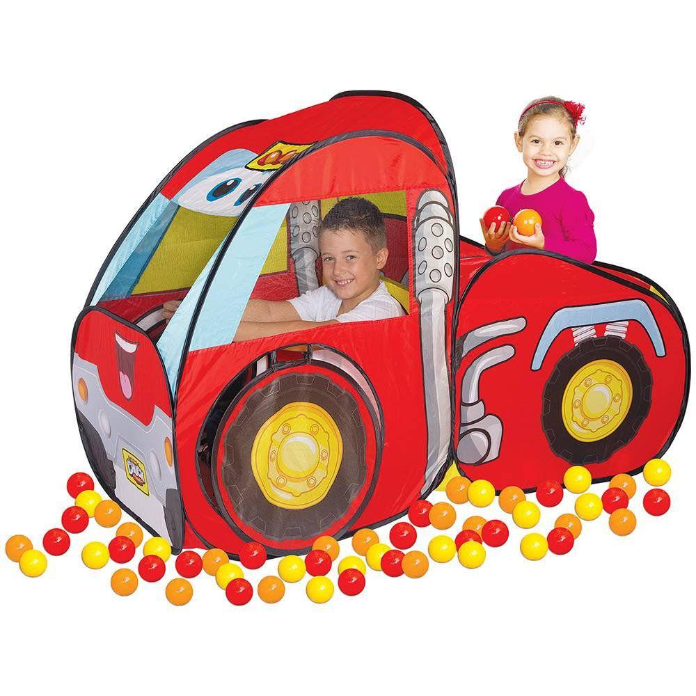 Toca Car Chuck & Friends Com Bolinhas Braskit