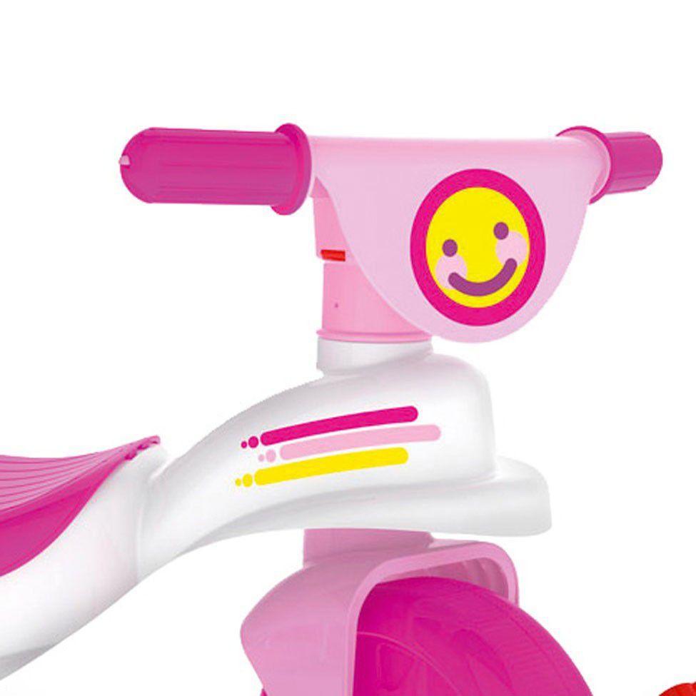 Triciclo Multi Care 3x1 Rosa Xalingo