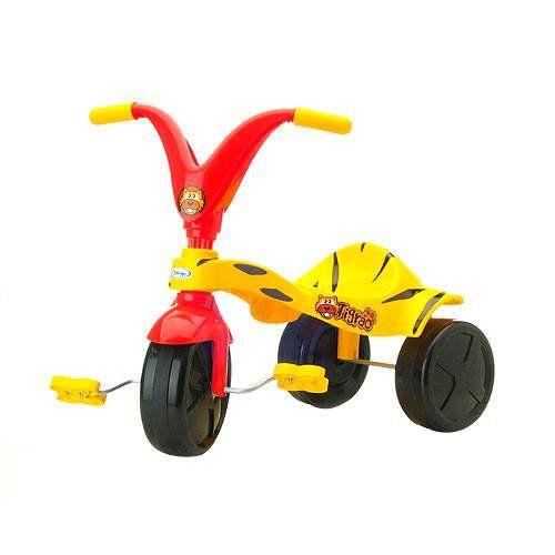 Triciclo Tigrão Vermelho E Amarelo Xalingo