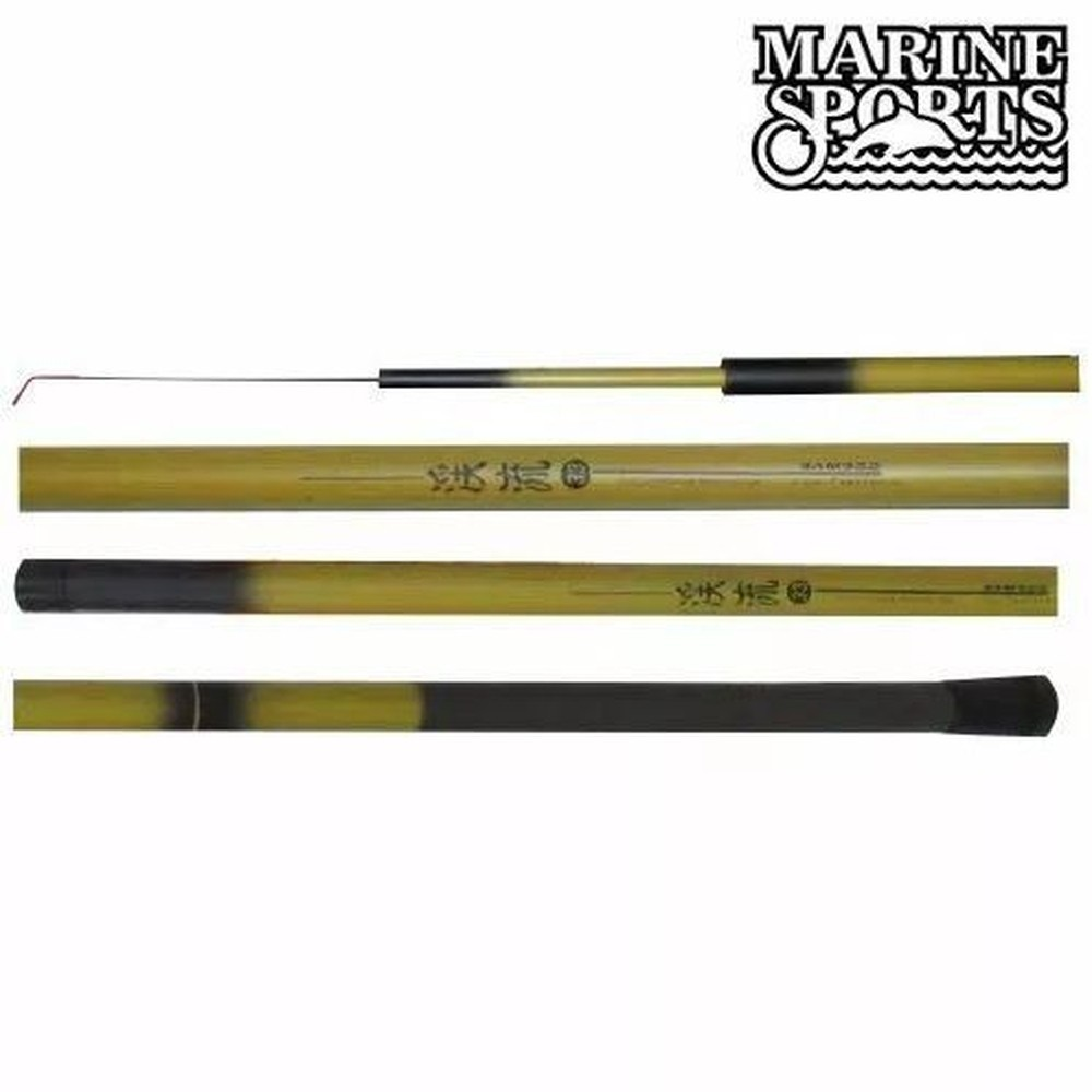 Vara De Pesca Telescopica Bamboo 2,4 M 5 Secoes Marine Sports